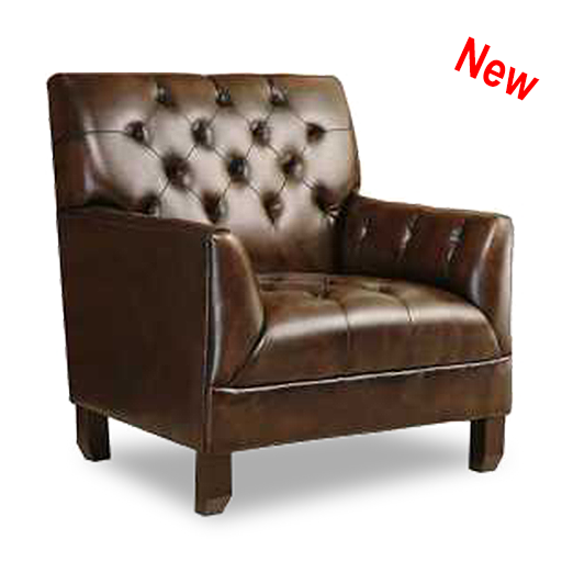 Alessio Leather Armchair