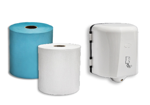 Center Pull Towel & Dispenser