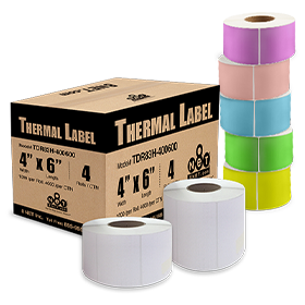 Direct Thermal Labels (No Ribbon Required)