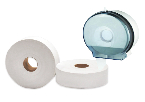 Jumbo Bath Tissue & Dispenser