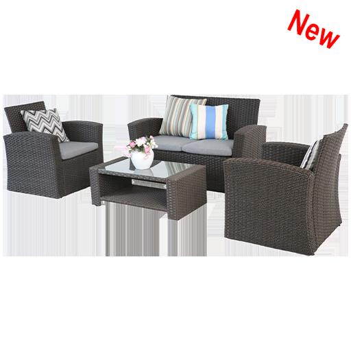 4 Pcs Outdoor Furniture