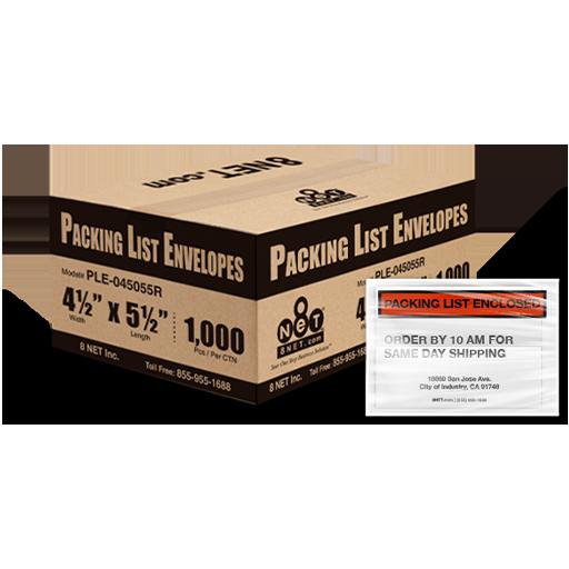 Packing List Envelopes - Adhesive