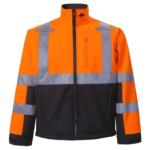 High Viz Softshell Jacket