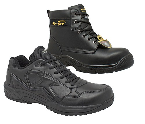 Industrial Safety Leather Boot