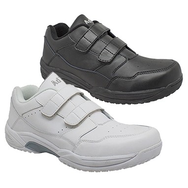 Uniform Velcro Leather Shoes
