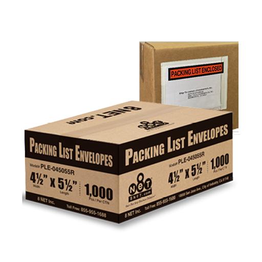 Packing List Envelopes