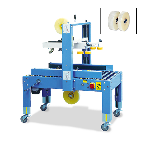 Carton Tape, Dispensers & Machines
