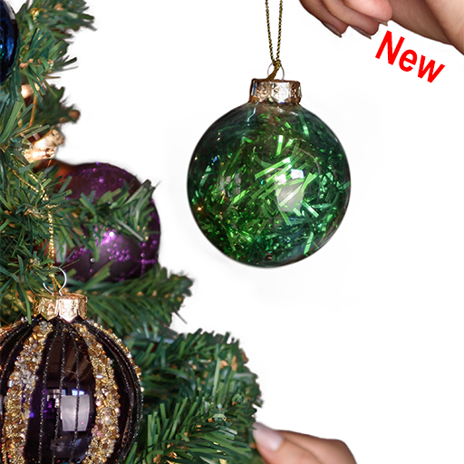 Glass Assorted Christmas Ornament Collections