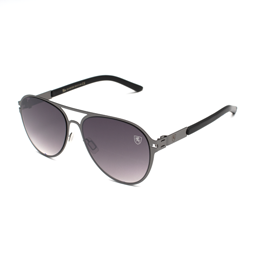 Thin Flat Frame Aviators Sunglasses