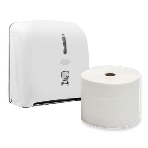 Towel - Roll & Dispenser