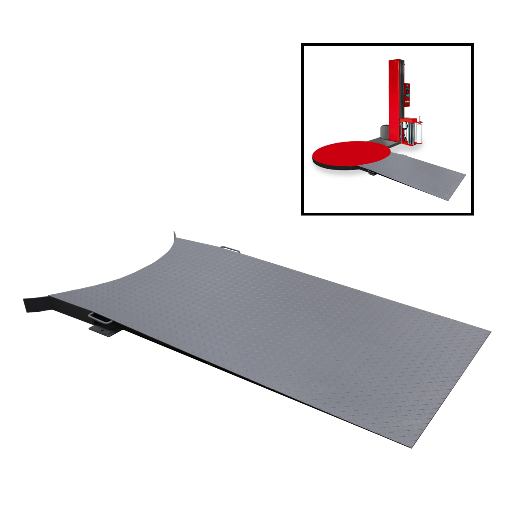 Stretch Wrap Machine Ramp