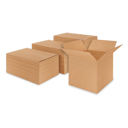 Variable Depth Corrugated Boxes