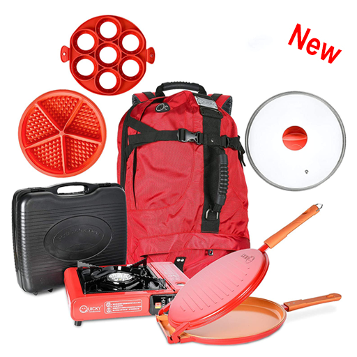 7 Pieces Camping Cookware