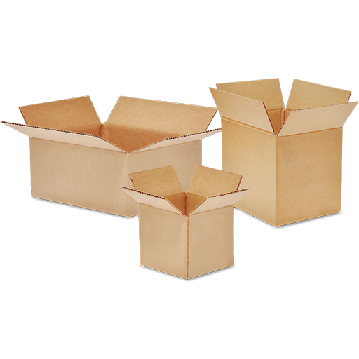 Corrugated Boxes (75 pcs Set)