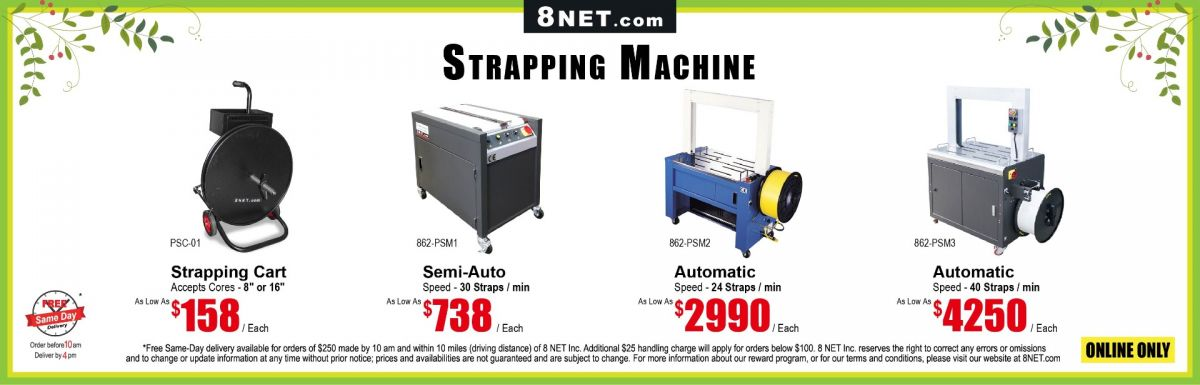 https://www.8net.com/shipping-supply/strapping.html