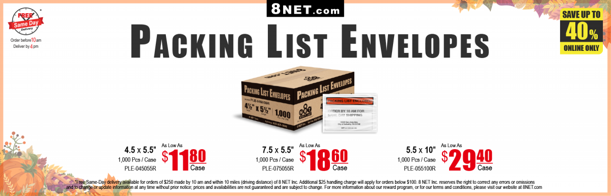 https://www.8net.com/shipping-supply/envelopes.html