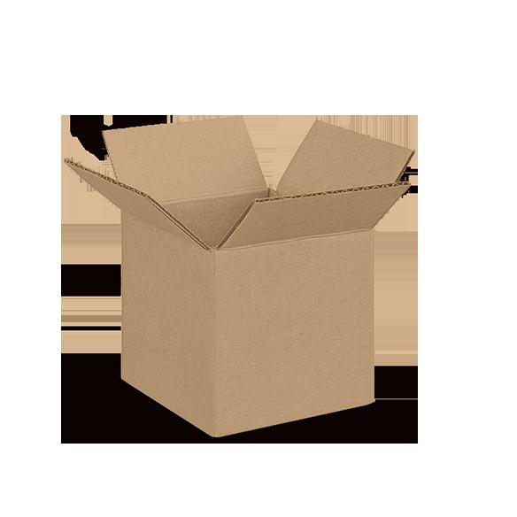 4 by 4 by 4 - Tan Box
