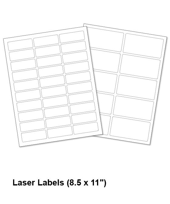 Laser Labels 8.5 x 11