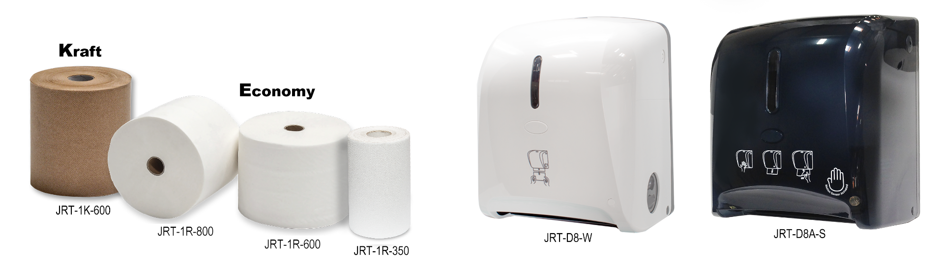 Towel Rolls & Dispensers