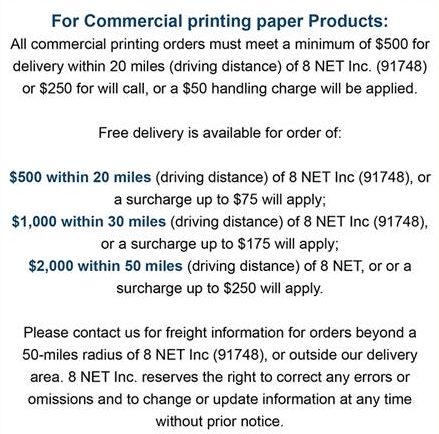 Commercial Paper Pop Up