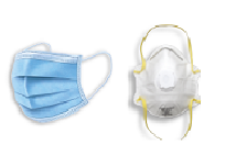 Disposiable masks and N95 masks