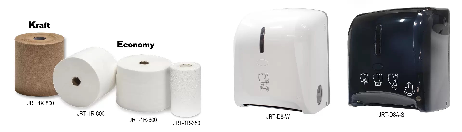 Towel Rolls & Dispensers