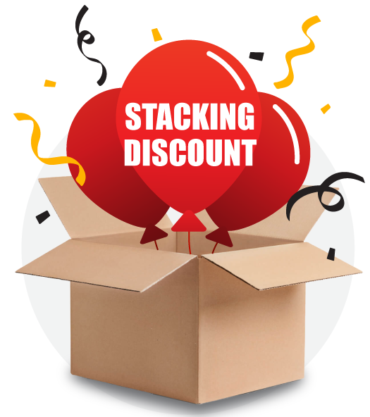Stacking Discount Banner