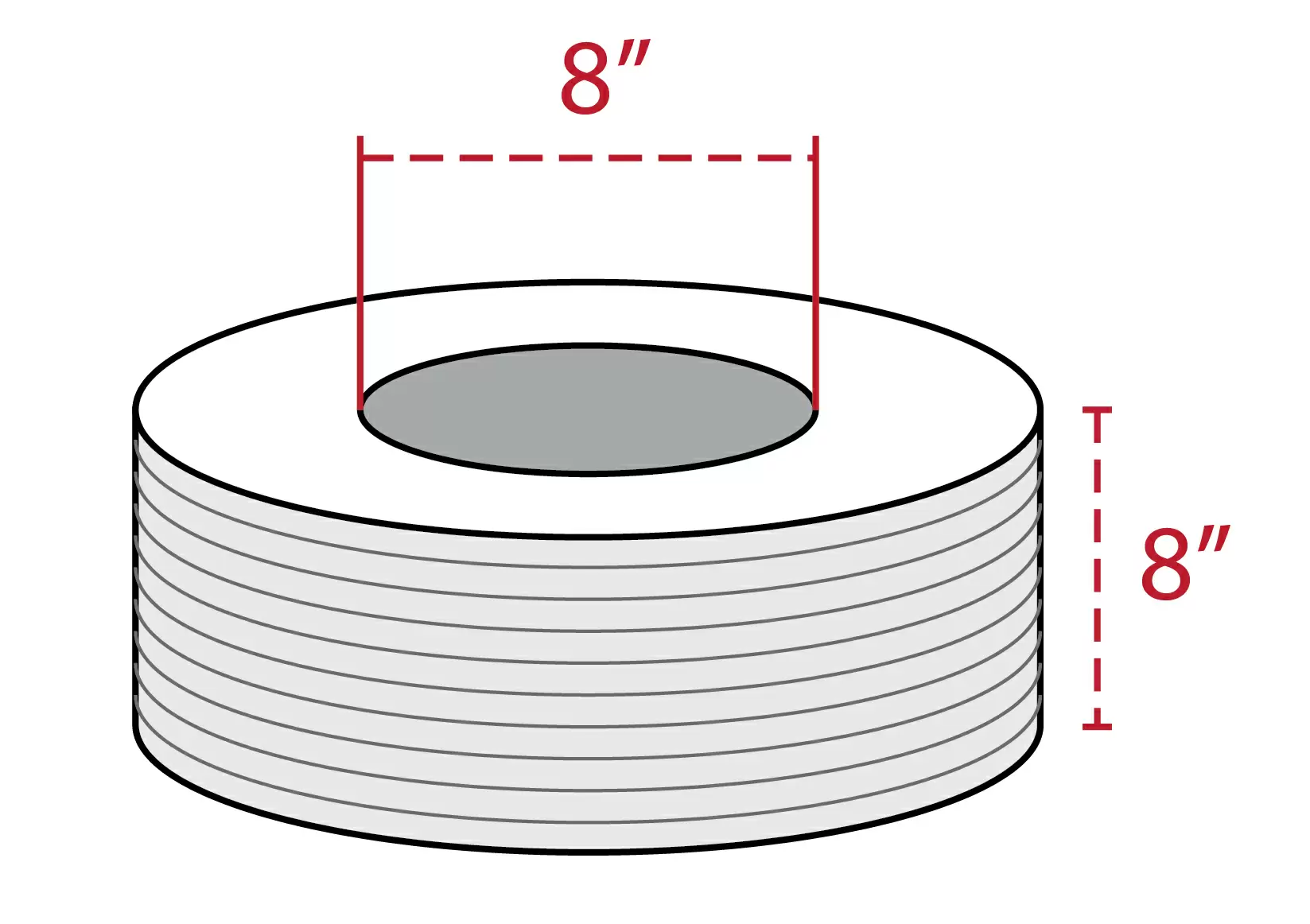 Poly Strapping Coil